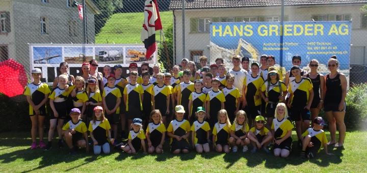 TSV Anwil am Jugend Regtionalturnfest Tecknau