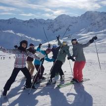 Skiweekend 2020 Arosa